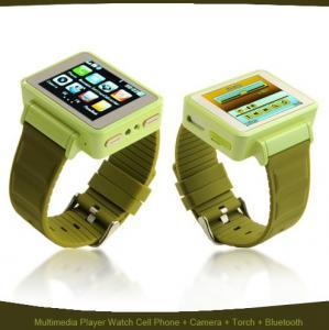 Telefon in forma de CEAS WATCH Mobile K1 Sport - verde