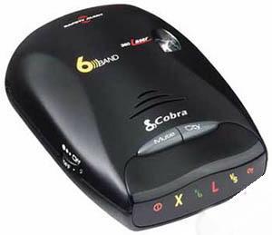 Detector radar cobra esd6060