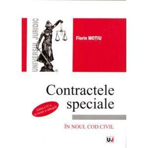 Contractele speciale - Curs Universitar