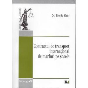 Contractul de transport international de marfuri pe sosele