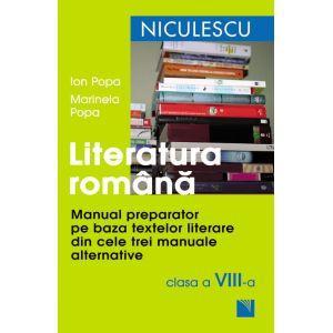 Literatura romana. Manual preparator pentru clasa a VIII-a