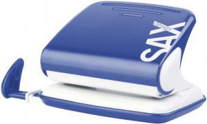 Perforator SAX Design 318, max. 20 coli, albastru