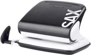 Perforator SAX Design 318, max. 20 coli, negru