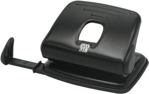 Perforator SAX 318, max. 15 coli, negru