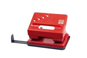 Perforator SAX 408, max. 30 coli, rosu
