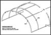 Sera TUNEL model 6,00 cu o lungime a corpului de 50,00 m