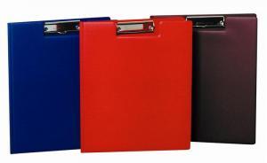 Clipboard dublu Flaro, A4, PVC buzunar, negru