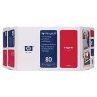 VALUE PACK MAGENTA NR.80 C4892A ORIGINAL HP DESIGNJET 1050