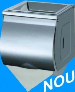 Dispenser hartie igienica cu scrumiera