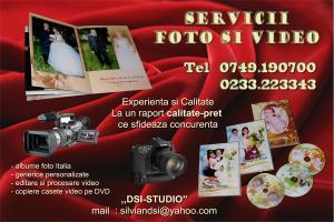 Servicii foto si video
