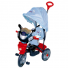 Tricicleta dhs baby 107-a4 jolly ride albastru dh4356