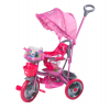 Tricicleta dhs baby 107a-2 merry ride roz dh4358