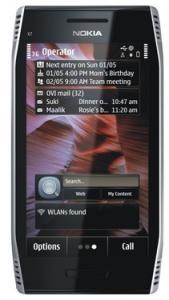 Nokia X7-00 Light Steel