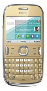 Nokia Asha 302 Golden