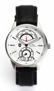 ANTONIUS GRAF STRACHWITZ RETROGRADE PRECIOUS WHITE Swiss Made, ceas barbatesc