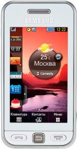 Samsung s5230 snow white
