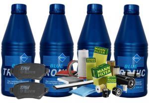 Pachet ulei Castrol si filtre  Dacia Logan sau Renault Clio 1.4 -1.6 benzina