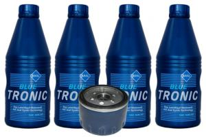 Pachet ulei Aral si filtru de ulei pentru Dacia Logan Renault Clio 1.4-1.6 MANOPERA GRATUITA