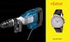 Ciocan demolator sds-max 1700 w bosch gsh 11 vc + ceas de mana - promo