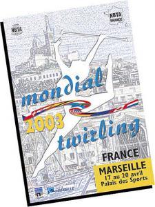 Campionatul Mondial de Twirling Marsilia 2003 - Caseta VHS