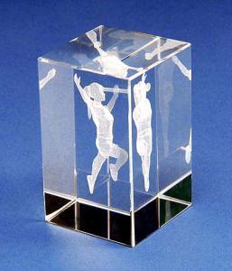 Trofeu Twirling din plexiglass