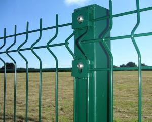 Gard zincat si plastifiat