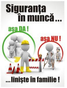 Semnalizare securitate protectia muncii