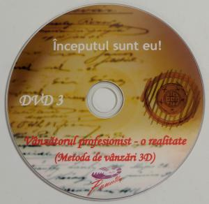 "Training vanzari DVD 3 - Inceputul sunt eu! (Tinuta profesionala) din cursul video ""Vanzatorul profesionist - o realitae (Metoda de vanzari 3D)"""