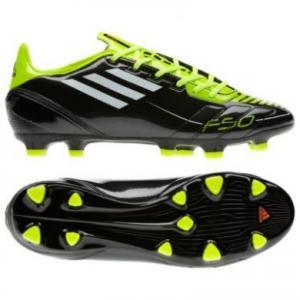 Ghete fotbal Adidas F10 TRX FG Black/White/Electricity