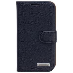 COMMANDER BOOK CASE ELITE for Samsung Galaxy S4 - Cross Black ON3530