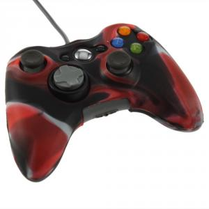 Xbox 360 Controller Silicone Cover Camouflage Red AL470