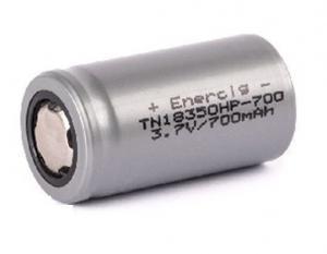 Enercig IMR18350 700mAh 14A (20C) Unprotected Flattop NK144