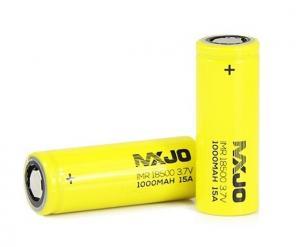 MXJO IMR18500F 1000mAh 15A Unprotected Flattop NK146