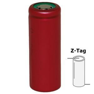 Z-Tags Sanyo UR18500F 1620mAh 1.62A Unprotected NK154