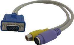 Cablu vga cu rca