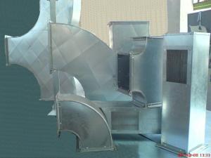 Tubulaturi aer conditionat industrial