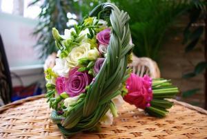 Buchet flori pentru cununie