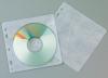 Plicuri plastic pp pentru 2 cd/dvd, 40 buc/set,