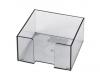 Suport cub hartie 8,5x8,5 cm, plastic
