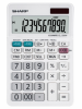 Calculator de birou, 10 digits, 152 x  94 x 28 mm, sharp el-330w - alb