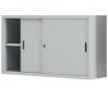Dulap metalic usi glisante cu 1 raft, 1200x450x880 mm
