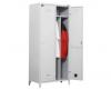 VESTIAR METALIC CU PICIOARE SI 2 USI P2FF compartimentat 800x500x1800 mm (LxlxH), FIRST