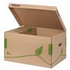 Container de arhivare esselte eco, cu capac pentru
