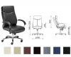 Scaun directorial pluto (tapiterie piele naturala)