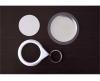 Insigna tip breloc cu spate oglinda diametru 44 mm