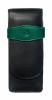 Etui de piele tg32 3 instrumente,negru/verde
