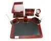 Set birou lemn 240 lux 7 piese