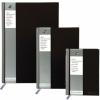 Registru A4, 96 file, 90g/mp, coperti carton rigid, PUKKA Black - dictando