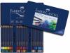 Creioane colorate aquarelle art grip 60 culori cutie metal