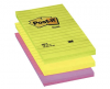 Notes autoadeziv post-it liniat 152x102 mm, culori neon